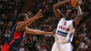 Luol Deng will be hoping to captain Great Britain to a win over Russia today
