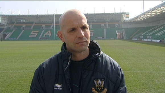 Saints' Director of Rugby Jim Mallinder