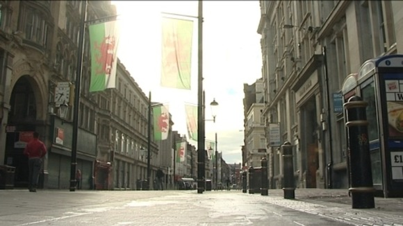 The streets were quiet on Sunday morning after last night's celebrations