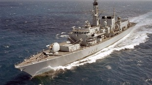 HMS Northumberland.