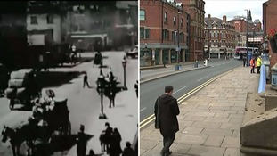 Leeds then and now.