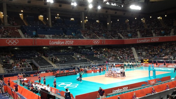 Men&#x27;s volleyball at Earls Court