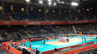 Men's volleyball at Earls Court