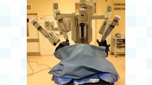 new robot has been brought in to treat Radical Prostatectomies at Derriford Hospital