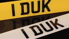 The number plate 1 DUK will be in high demand from fans of the boy band One Direction.