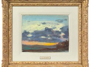 One of the other Monet pastels, Etude de ciel