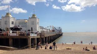 When Clacton pier opened on 27 July 1871 it was just 480 feet long.