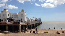 When Clacton pier opened on 27 July 1871 it was just 480 feet long.