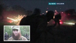 Fierce gun battle video gives insight into violent death of British jihadi Thomas Evans