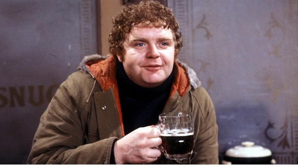 Geoffrey Hughes as Eddie Yates in Coronation Street