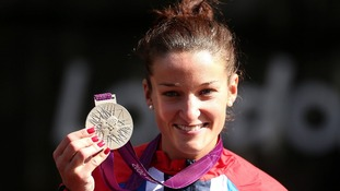 Lizzie grabs first GB medal