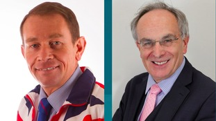 Kettering MP Philip Hollobone and Wellingborough MP Peter Bone.