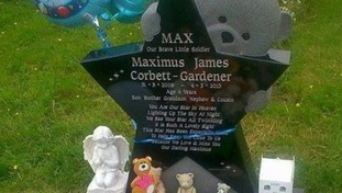 Petition over council's removal of four-year-old boy's headstone gets 15,000 signatures