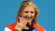 Rebecca Adlington during her Women's 400m Freestyle Final