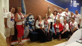 Adlingtons at the Team GB house in east London