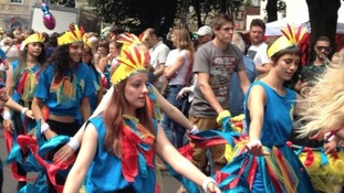 2014 St Paul's carnival procession