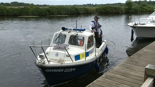 Broads police marking 20 years patrolling afloat