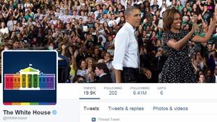 The White House is no longer white on Twitter.