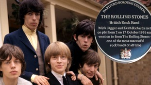 The Rolling Stones in 1964: Mick Jagger, Bill Wyman, Brian Jones, Keith Richards and Charlie Watts