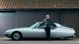 Bill Wyman with his 1971 Citroen Maserati SM