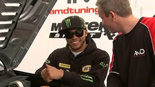 Lewis Hamilton's brother Nick first BTCC disabled driver.