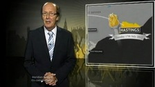 Fred Dinenage & Olympic torch route