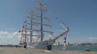 Mexican tall ship