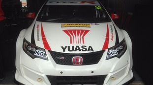 Gordon Shedden's BTCC car