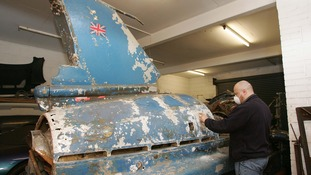 Bluebrid being restored