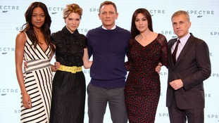 The cast of Spectre