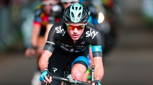 Team Sky's Peter Kennaugh