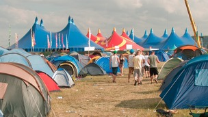 The main stage at this year&#x27;s Global Gathering festival