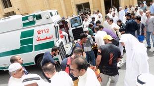 kuwait bomb attack