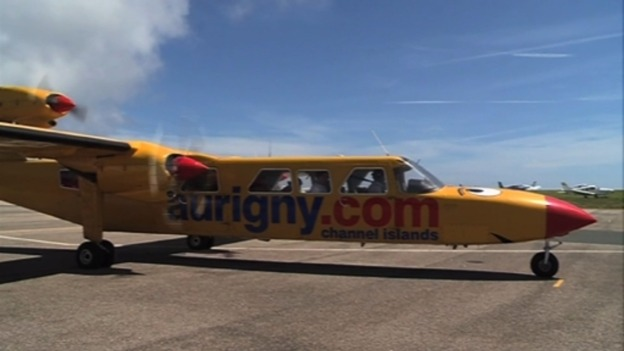 Aurigny's famous yellow aircraft, Joey, made its final commercial ...
