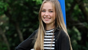 14-year-old Connie Talbot collaborates with Hollywood song-writer to the stars