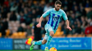 Josh McQuoid in action for Coventry City.