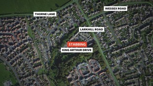 The incident happened in King Arthur Drive in Yeovil
