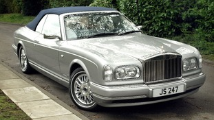 Sir Jimmy Savile's 2002 Corniche Convertible