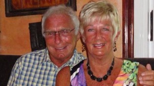 Denis Thwaites and his wife Elaine