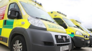 Ambulance carries four people to hospital