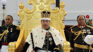 Tonga's King George Tupou V.