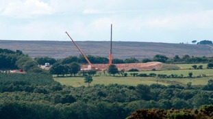Proposed potash mine