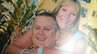 Billy and Lisa Graham, from Bankfoot, near Perth