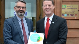 Living Wage award for Dumfries and Galloway Council