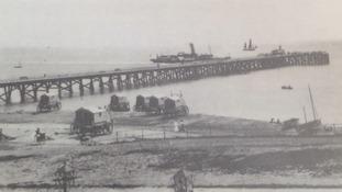 Southwold Pier under construction