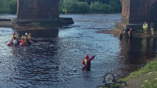 Major river search in Cumbria for missing man