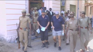 Six 'pirate hunter' Britons held in India - the story so far