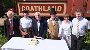 Victorian North Yorkshire railway station celebrates 150 years of operation