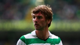 Paddy McCourt in action for Celtic.