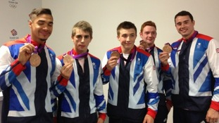 Team GB Gymnastics Bronze medal